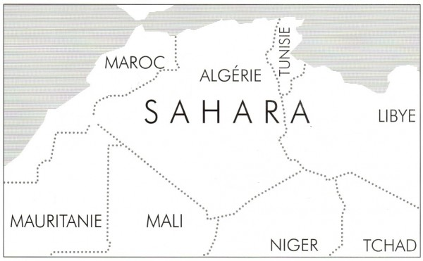 Hugot Bruggmann Carte Saharapays