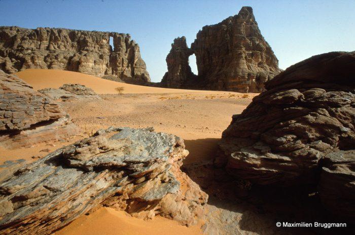 """Tadrart (Algérie) Site dit de la """"Cathédrale"""""""
