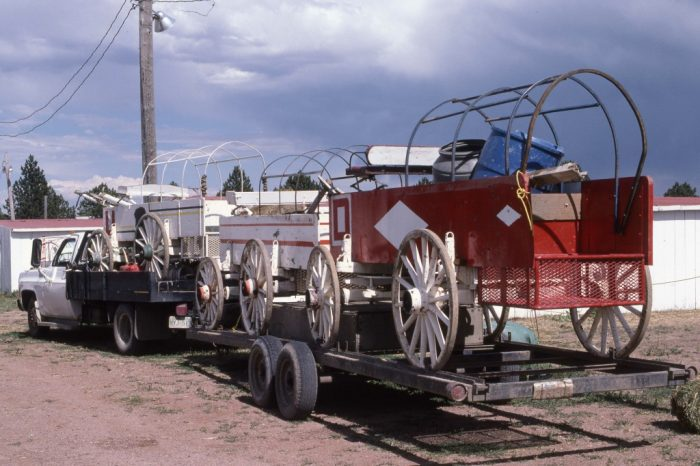 Après Calgary, cap sur le sud, rendez-vous à Cheyenne.