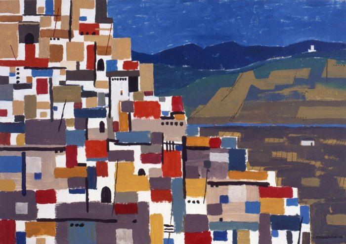 Andalucia / Acrylique sur bois / 1998