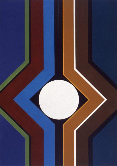 Double naissance / Acrylique sur bois / 1999